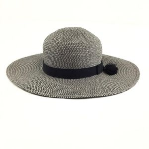 Nine West Floppy Sun Hat Women's OS Black